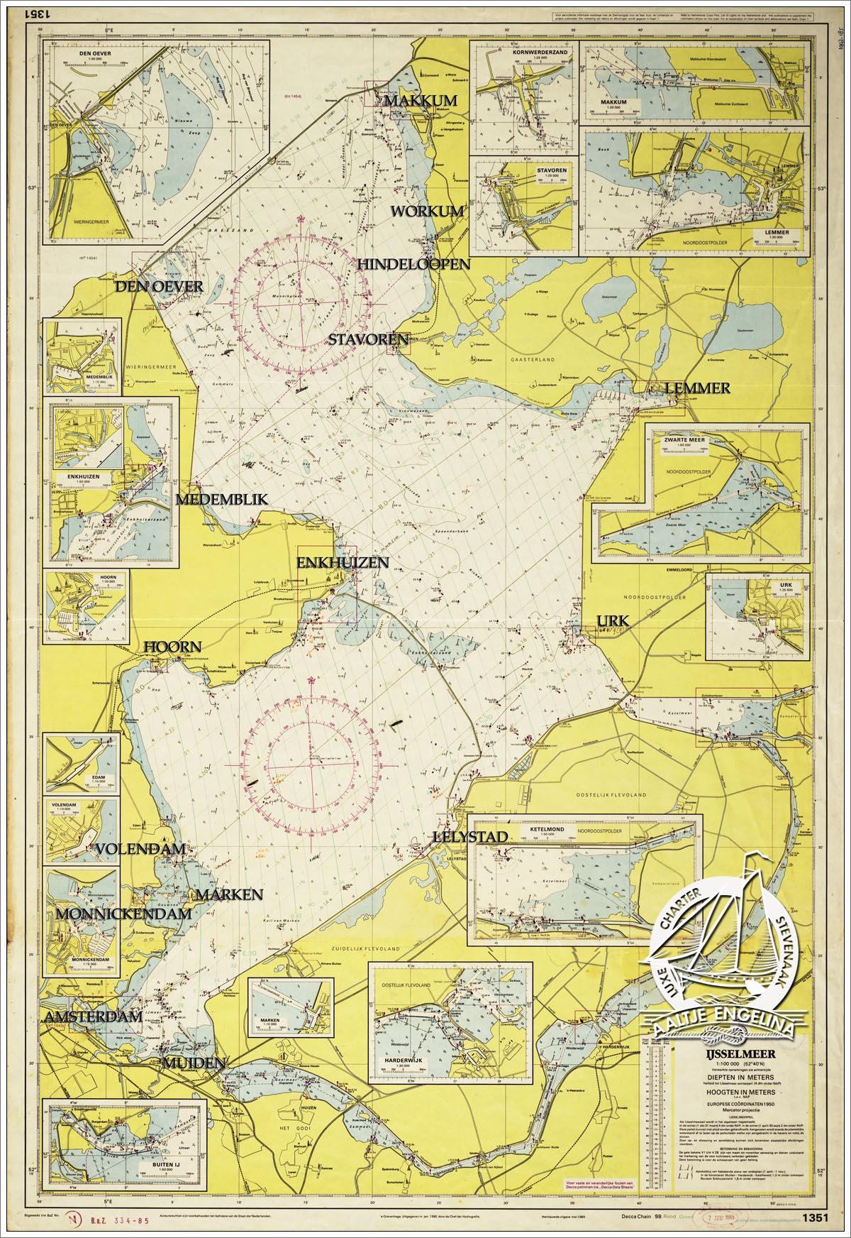 charter ijsselmeer segeln